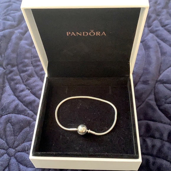 Pandora Moments Snake Chain Bracelet small 6.3in
